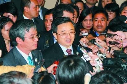 中国落实南海宣言高官会上提系列务实合作倡议