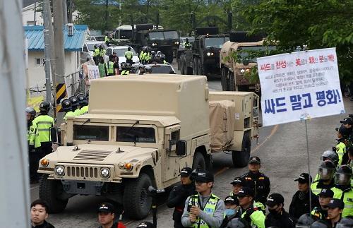 """韩媒:韩国政坛""""萨德""""纷争再起 将其撤走可能性不大"""