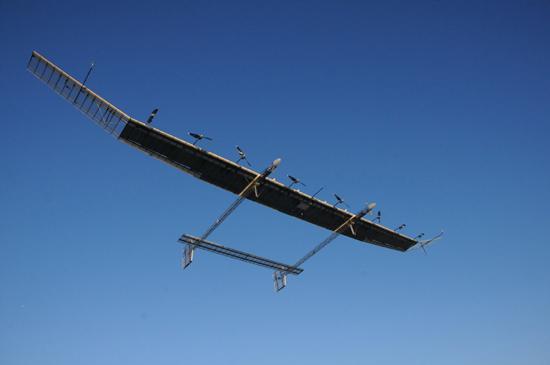 国产太阳能无人机完成试飞:性能国际前三
