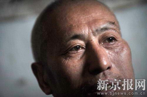 5月11日,赵作海在其妹夫家中休息。本报记者 李强 摄