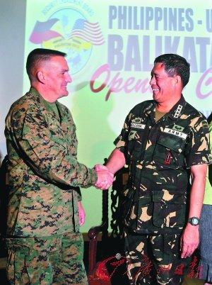敏感时刻菲律宾拉美国军演 称不会同中国交战