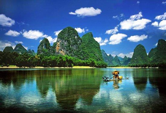 美媒网评15条全球最美河流 桂林漓江入选图片