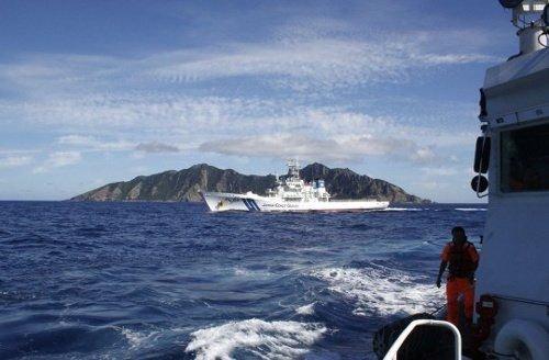 安倍回应中国军舰赴钓鱼岛:日本将全天候巡航