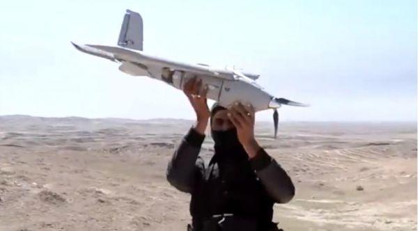 """无人机成战地新宠!IS无人""""轰炸机""""空投手榴弹"""