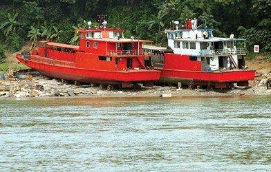 海警湄公河执法船完工 有望下月起开始护航(图)