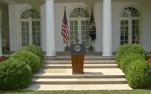 奥巴马发表声明称确定将对叙动武 将选时机下令