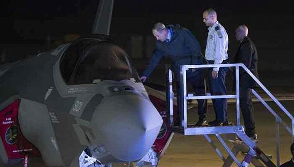 以色列收获首批F-35 总理:有实力才有和平与尊重
