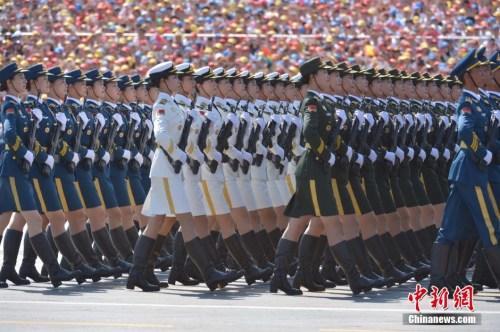 """聚焦抗战阅兵""""之最"""":中国阅兵再刷多项历史纪录"""