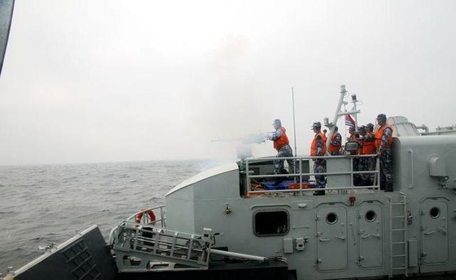美国海军少将高度评价在南海的中国海军:非常专业