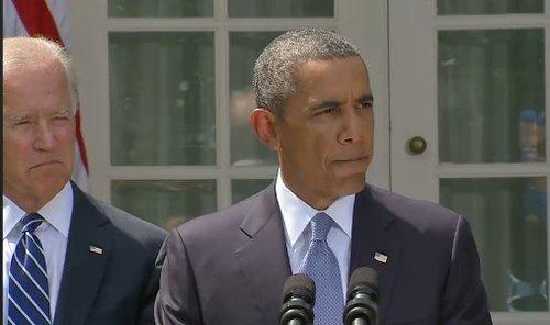 奥巴马发表声明称确定将对叙动武将选时机下令
