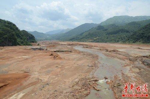 湘江上游治污资金受困 永州呼吁建生态补偿制