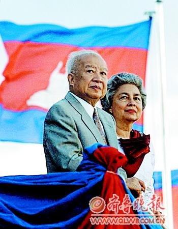 西哈努克5子14孙红色高棉时期被虐杀