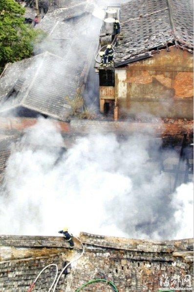福州春节两天发生88起火灾 75%因烟花引起(图)