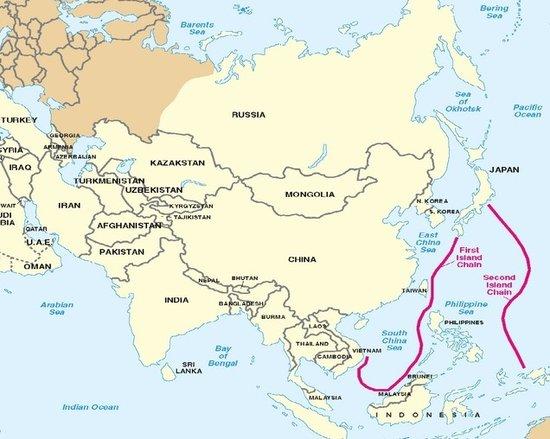 巴士海峡和宫古海峡-少将 中国轰6飞越岛链能检验最大作战半径