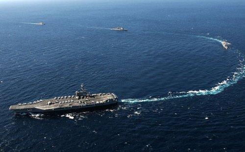 俄媒称俄航母编队无力对抗美国海军航母群