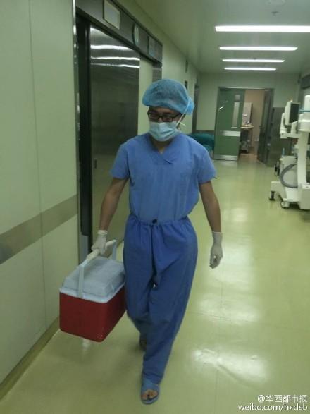 男童车祸死亡捐器官遇返程高峰 多部门生死接力