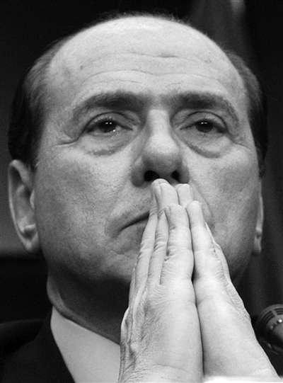 意大利总理贝卢斯科尼。资料图片