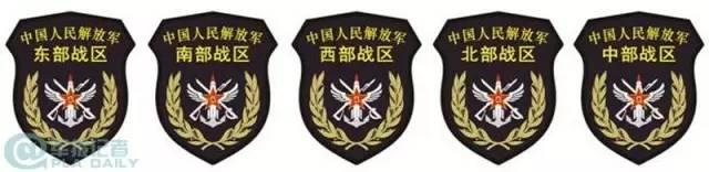 """独家揭秘""""15式""""54种臂章8种胸标"""