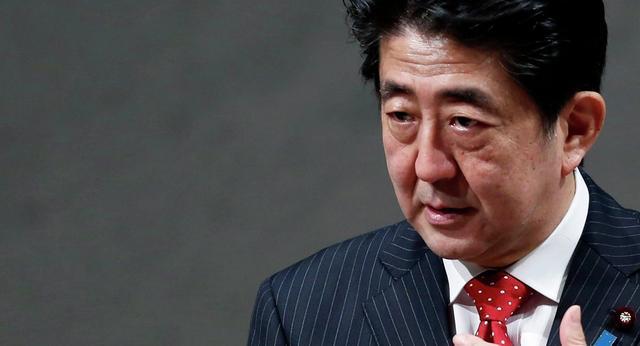 54%日本人反对安倍执政期间修宪 内阁支持率继续跌