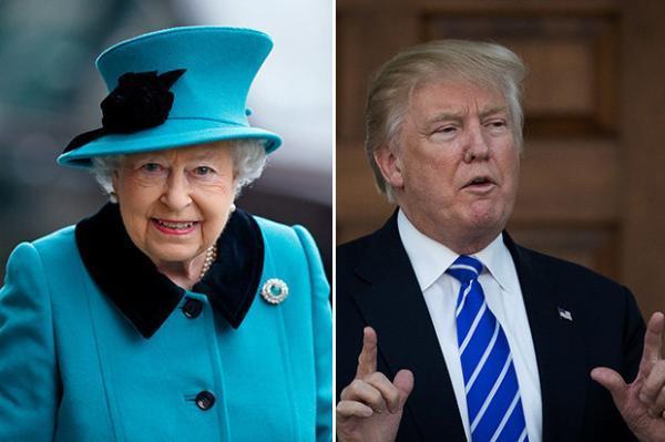 """英女王邀特朗普访英 被指欲加强与美国""""特殊关系"""""""