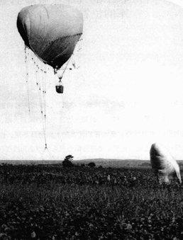日军军用气球