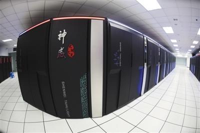 国产世界最快超级计算机开机1分钟 地球人算32年