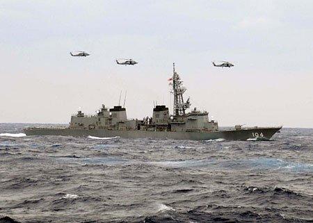 日本驱逐舰近期访问青岛 重启中日军事交流(图)