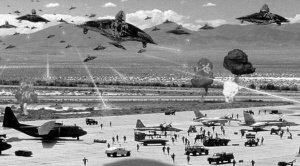 美国多名退役飞行员开发布会揭秘UFO真相(图)