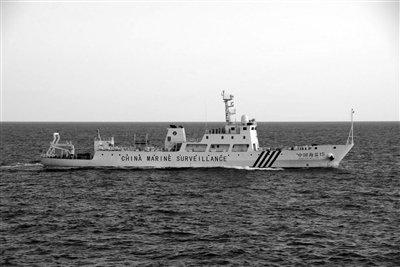 中方钓鱼岛取证日本侵权行为 责令日船立即离开