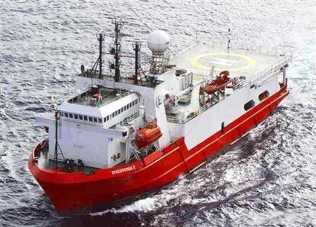 """中国上海海洋石油局海洋调查船""""DISCOVERER2"""""""
