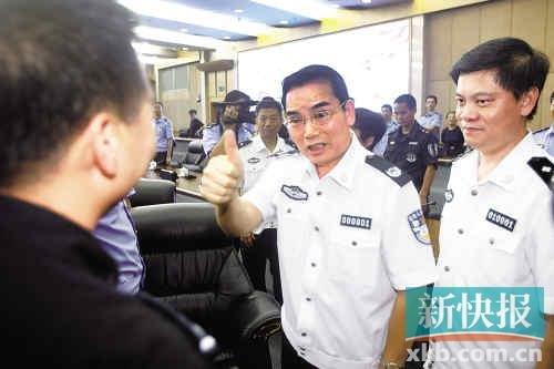 公安厅长:不要来广东犯罪这里是罪犯地狱
