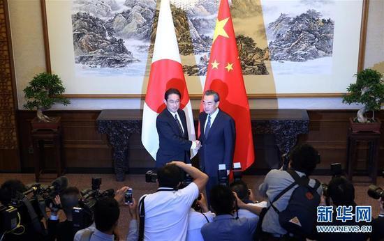 王毅会见日本外相:若是真心诚意而来 我们欢迎