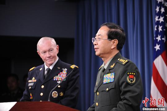 中美将尽快开展磋商重大军事行动互通报机制