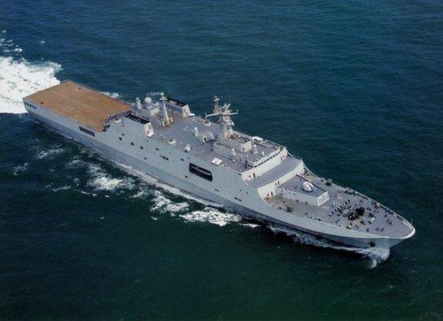 韩称中国借鉴西北风新研两栖舰重要不亚航母