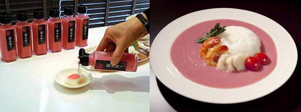 日本食品商家推出粉色酱油 外观犹如指甲油(图)