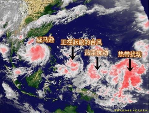 """""""威马逊""""或成10年来登陆粤西至海南最强台风"""