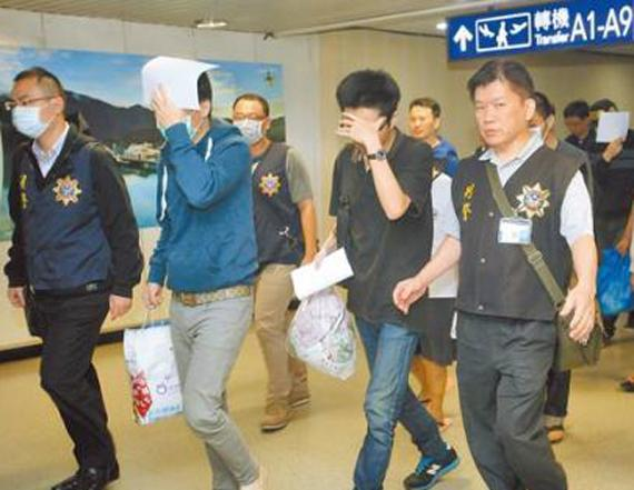 台湾重新羁押先前被释放的18名电信诈骗嫌犯