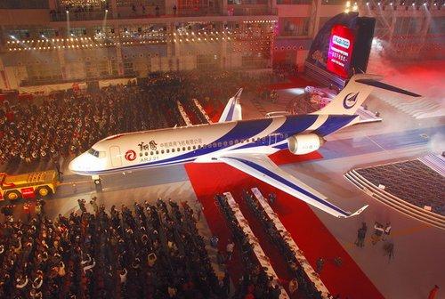 ARJ21-700新支线飞机局方审定试飞进入冲刺阶段