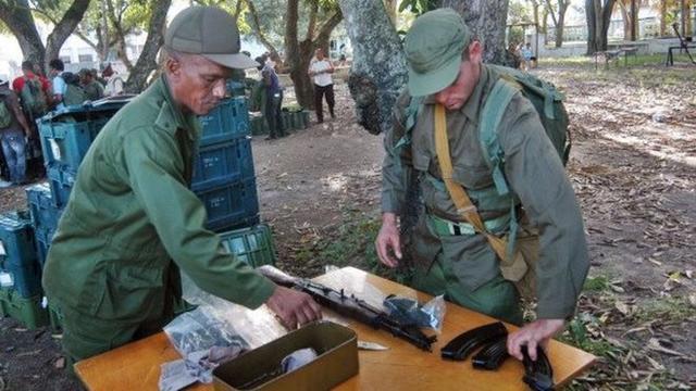 得知美大选效果后古巴作何反映?外媒:举行天下军演
