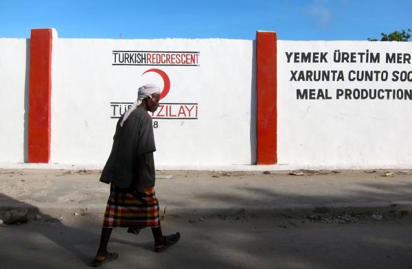 土耳其将在索马里建成首个海外军事基地