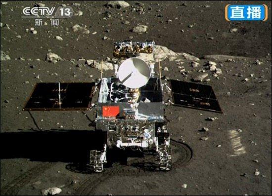 玉兔月球车进入休眠状态 明年1月11日被唤醒
