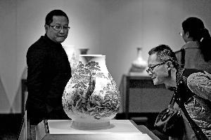 传统艺术品点缀APEC会场 :屏风30余人做3年