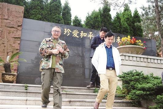 樊建川建的博物馆门口