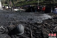 组图:云南一煤矿发生事故已确定21人遇难