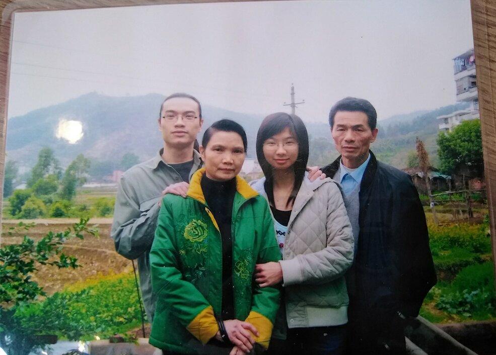 十年前的全家福