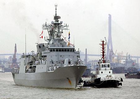 新西兰海军趁总理访华进南海军演 军方急向中国保证
