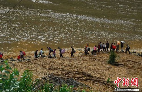 组图:四川凉山冕宁山体滑坡致2死11人失踪