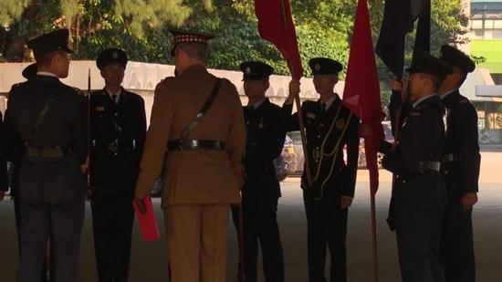 香港警察邀请英军来港培训步操 被批无事生非