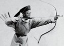 清军弓箭手