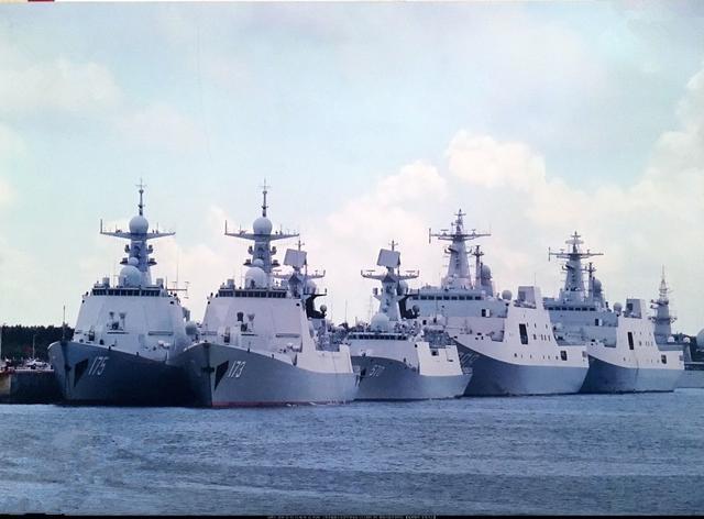 军媒罕见透露海军扩编进展 最强驱逐舰支队曝光